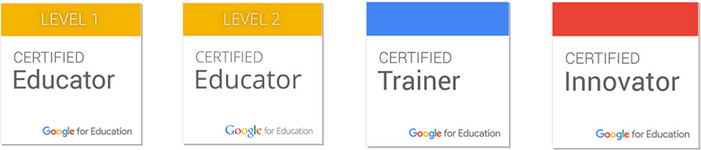 Certificações Google for Education